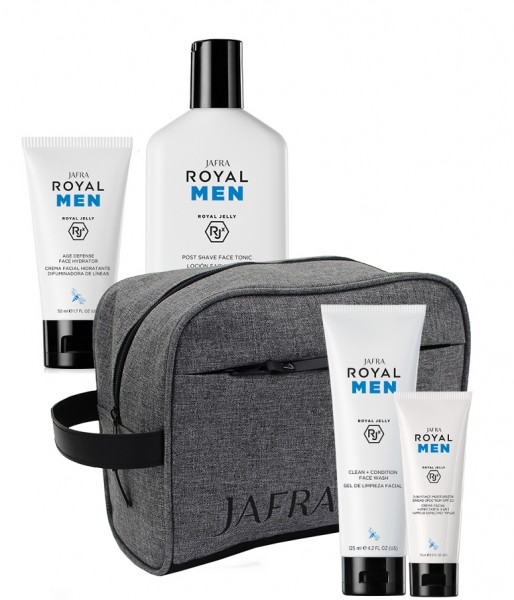 All in Men Set - 4 Produkte + Jafra Men Kulturbeutel