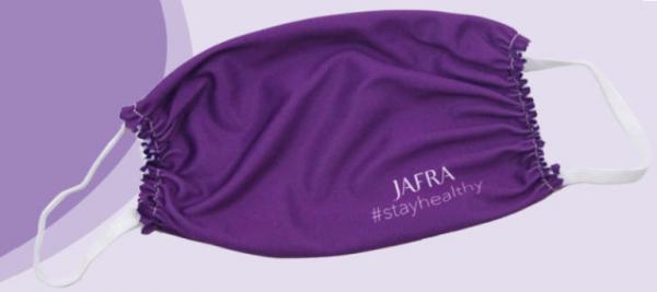 Jafra Mikrofaser Gesichtsmaske