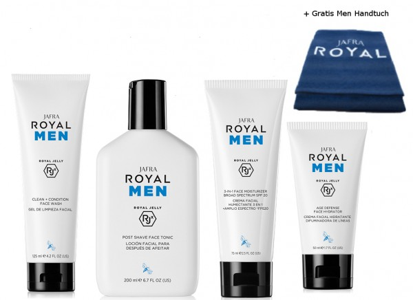 Royal Men Set - 3 Produkte + Gratis Handtuch
