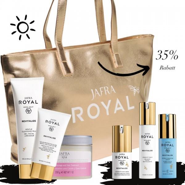 Revitalize Set Deluxe + Gratis Jafra Gold Shopper