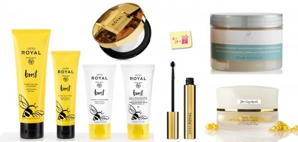 BOOST DELUXE SET - 7 Produkte + Gratis Royal Jelly Augenpflegekonzentrat