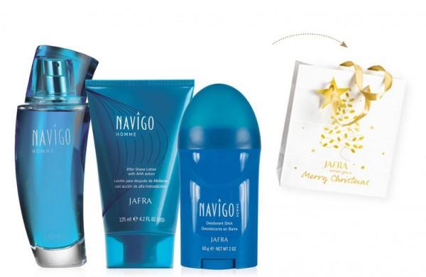 Navigo Homme Set - 3 Produkte + Geschenktasche