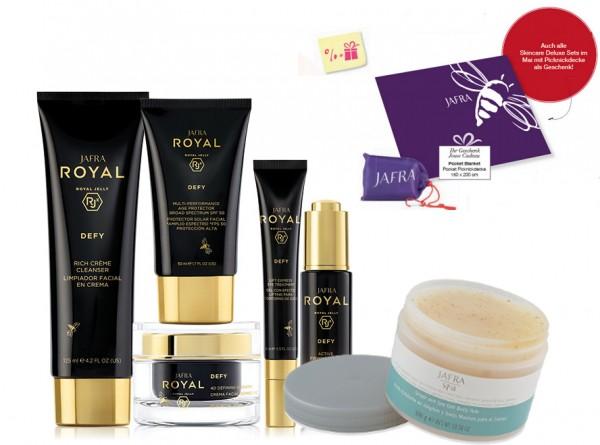 Royal Defy Set Deluxe + Gratis Pocket Picknickdecke