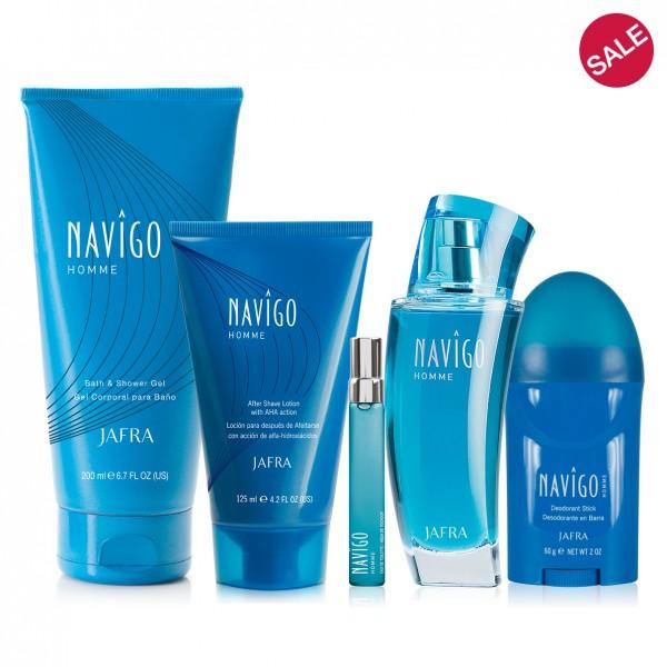 Navigo Homme Set - 4 Produkte