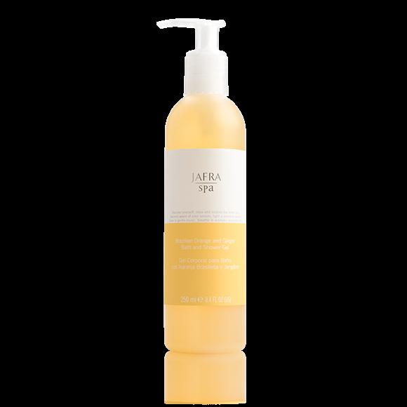 Orange und Ingwer Bade- und Duschgel
