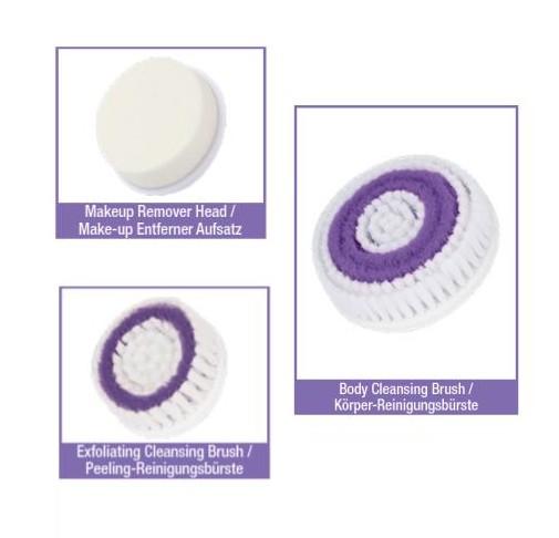 3 Ersatzbürsten für 9-in-1 Reinigungssystem