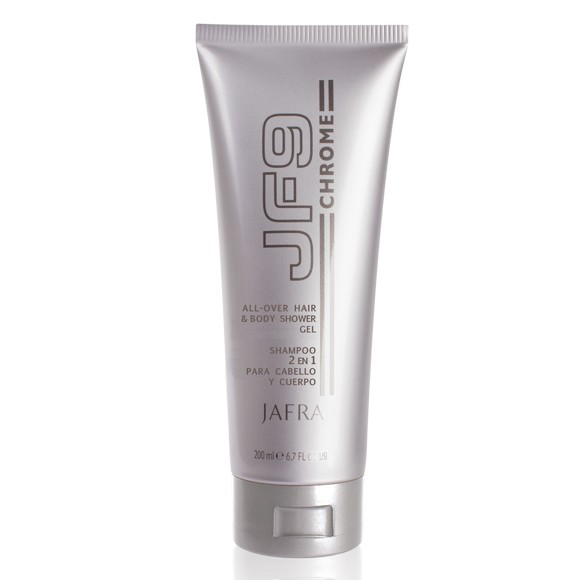 JF9 Chrome All-Over Duschgel für Körper und Haare