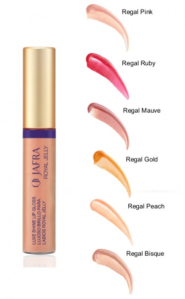 Brillanter Lipgloss mit Royal Jelly