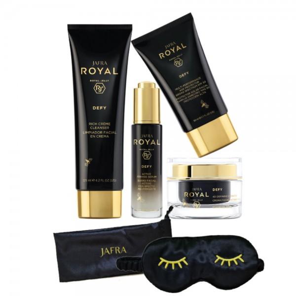 Royal Defy Set Basic - 4 Produkte + Gratis Schlafmaske
