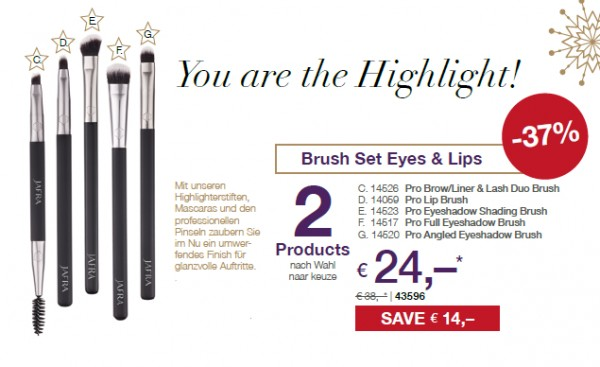 Brush Set Eyes & Lips