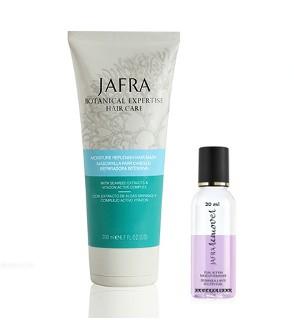 Feuchtigkeitsspendende Haarmaske + 2 Phasen Make-up Entferner, 30 ml