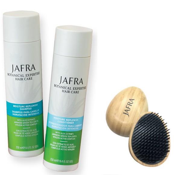 Haarpflege Set - 2 Produkte + Gratis Detangler aus Bambus