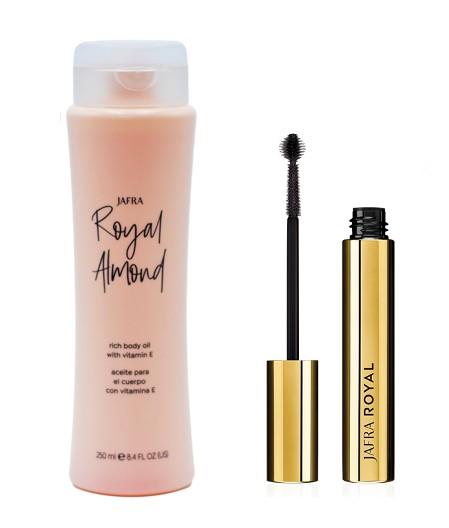 Royal Luxury Mascara + Royal Almond Körperöl
