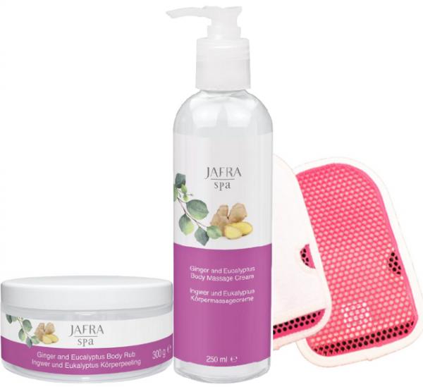 Aroma Therapie Set + Gratis Wasch & Peelinghandschuh