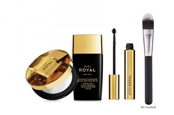 Natural Makeup Set - 3 Produkte + Gratis Pro Foundation Pinsel
