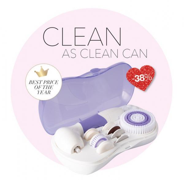 9-in-1 Reinigungssystem für Gesicht und Körper