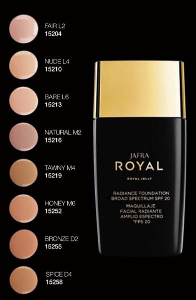 Royal Make-up für strahlenden Teint SPF 20