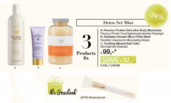 Jafra Detox Set Mini