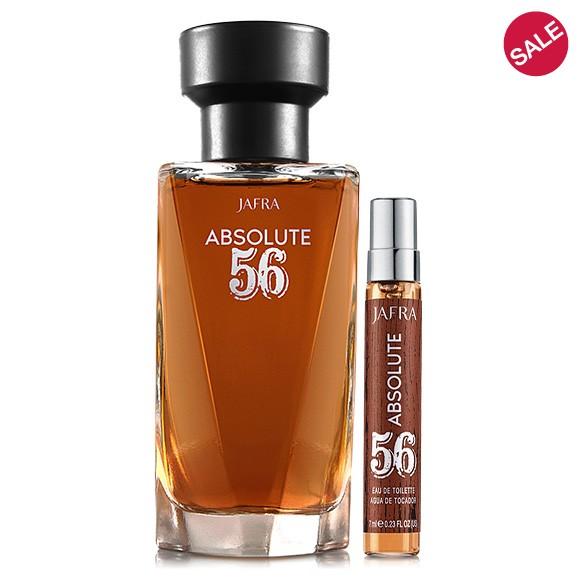Absolute 56 - Eau de Toilette + 7 ml Taschenzerstäuber