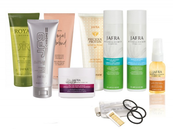 Shower & Hair Care Set + Gratis Haaraccessoires Set