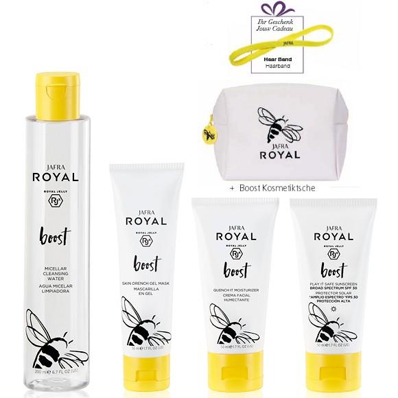 BOOST BASIC SET + Gratis Haarband und Boost Kosmetiktasche