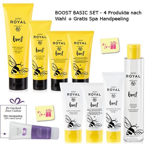 BOOST BASIC SET + Gratis Spa Handpeeling