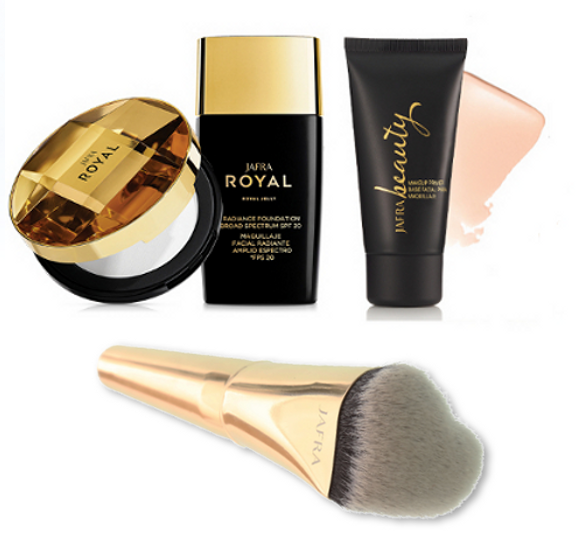 Makeup Set Basic + Gratis Love Foundation Pinsel