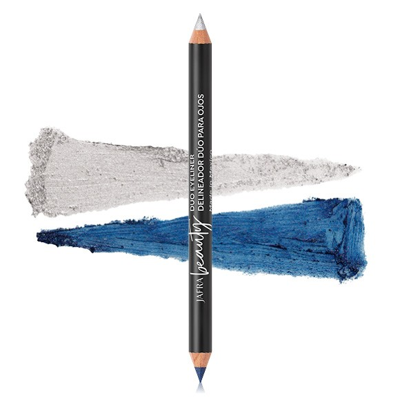 JAFRA Beauty Duo Eyeliner - Metallic Jean/Silver