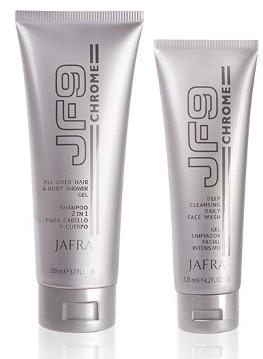 JF9 Chrome Duschset - 2 Produkte