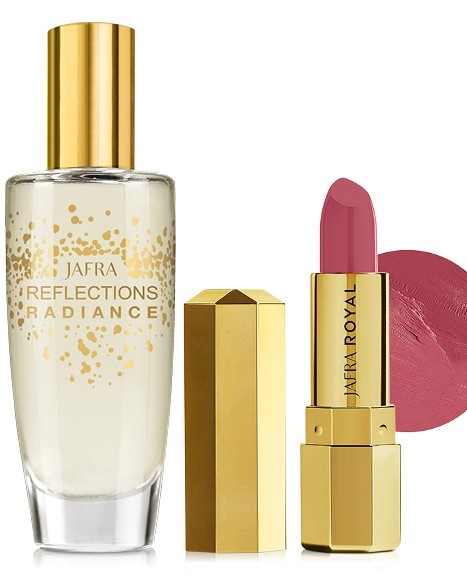 Reflections Radiance EDT + Lippenstift Regal Rose