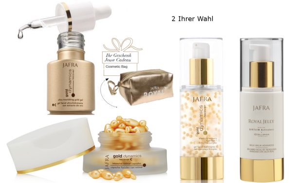 Special Care Duo Set + Gratis Kosmetiktasche Gold